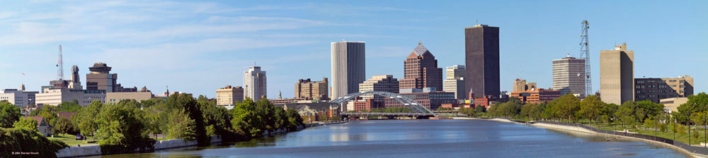 Skyline of Rochester NY